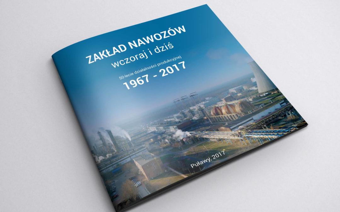 Folder jubileuszowy dla Grupy Azoty Puławy