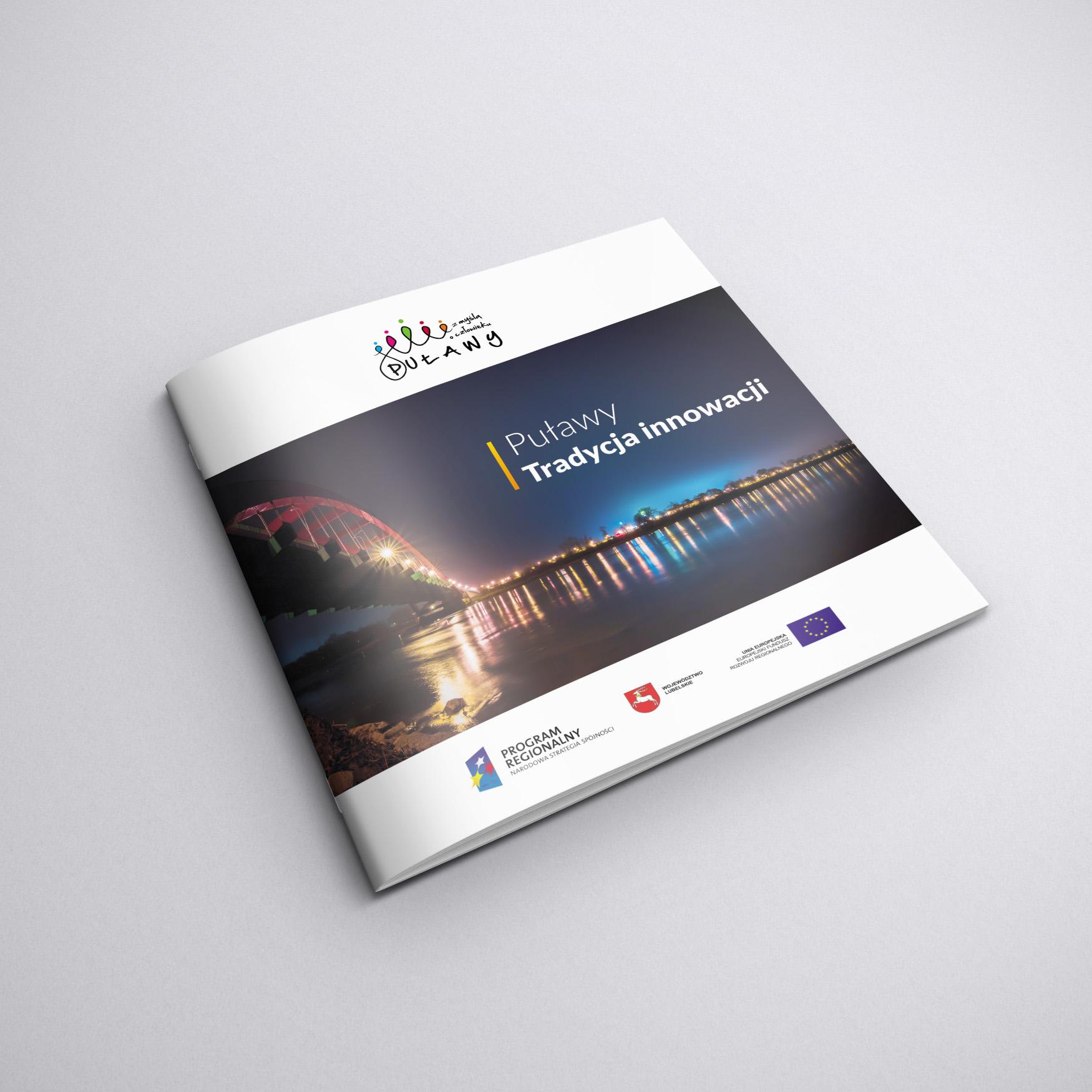 Folder informacyjny dla Urzędu Miasta Puławy
